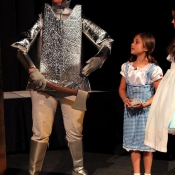 Susie double-dipped the Tin Man part