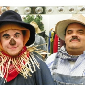 Tyler Scarecrow and Uncle Juan