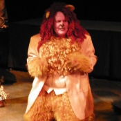 Sam is the Cowardly Lion