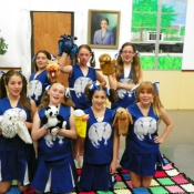 Cheerleaders & Puppets!
