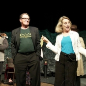 Curtain call: Artistic Director Ralph and Theater Manager Nancy