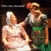 """""""He's very decayed."""""""